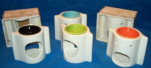 48 Gift Boxed Wave Tart Warmers - 4 Colors