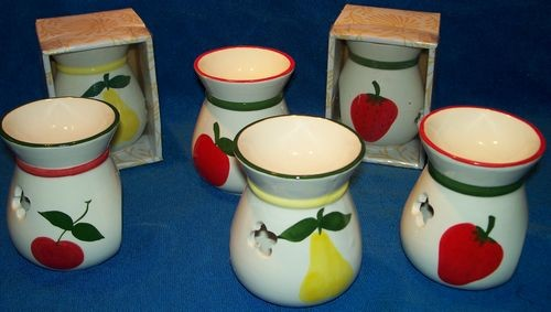 48 Gift Boxed Fruit Tart Warmers - 4 Designs