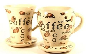 48 Coffee Cup Oil Warmers - 2 Designs - Tart Melters